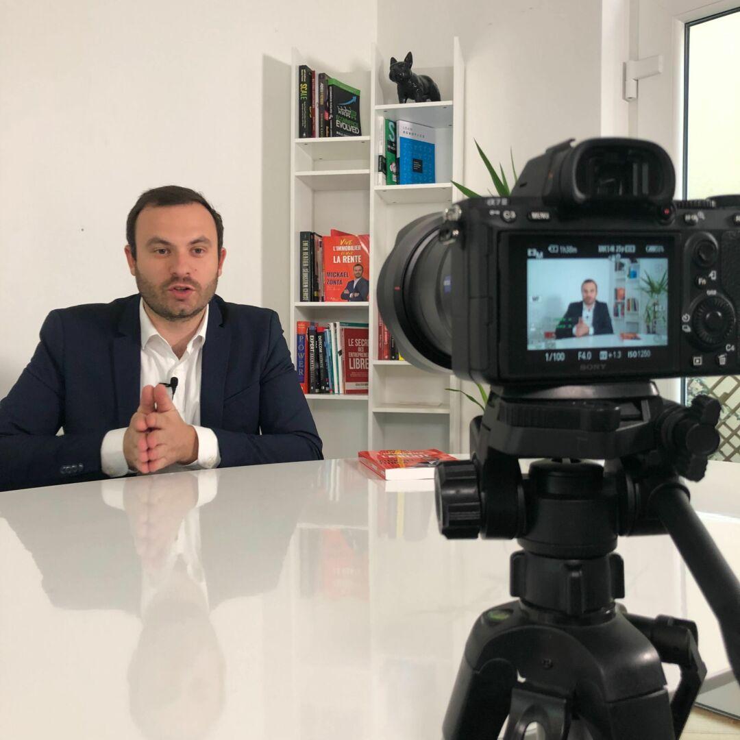 Portrait d'influenceur : Mickael Zonta, spécialiste en investissement immobilier locatif et Youtubeur à Paris