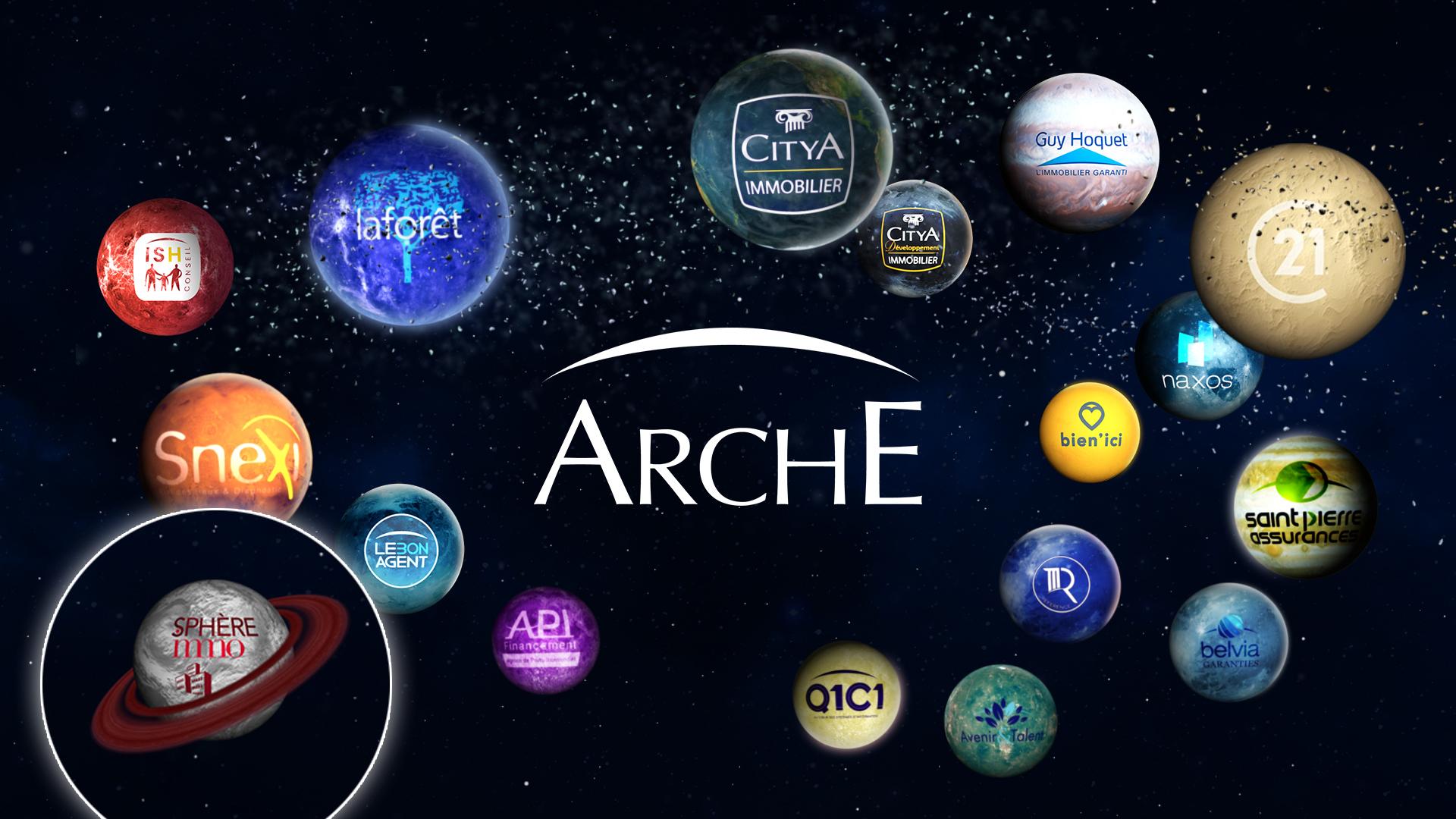 Arche s'agrandit et accueille Sphère Immo dans sa galaxie
