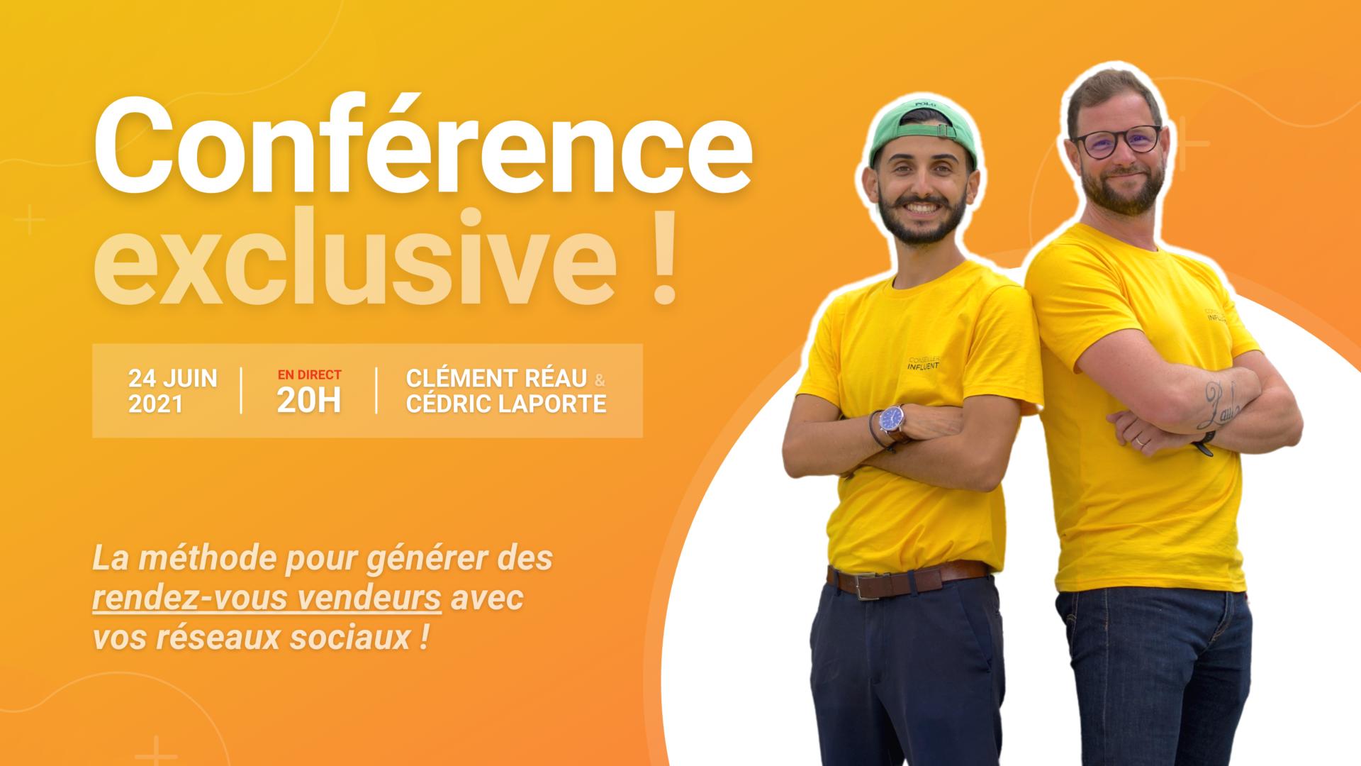 Conférence : comment générer des rendez-vous vendeurs grâce au marketing digital