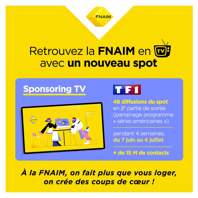 La FNAIM valorise les professionnels de l'immobilier avec un nouveau spot TV