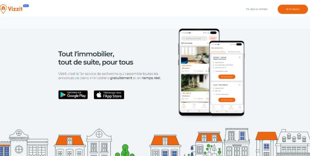 Lancement de l'application Vizzit, le chasseur immobilier 2.0