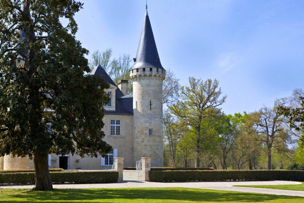 photo : Château, Médoc, Bordeaux, viticole, parc, jardin, riche