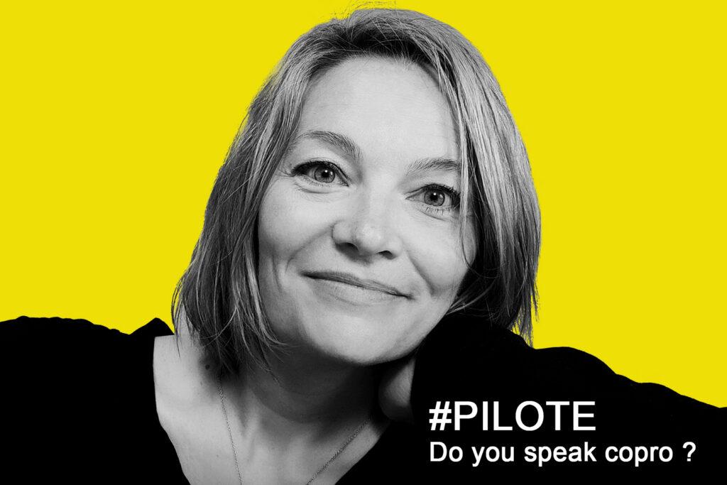 photo : Caroline Theuil - pilote jaune