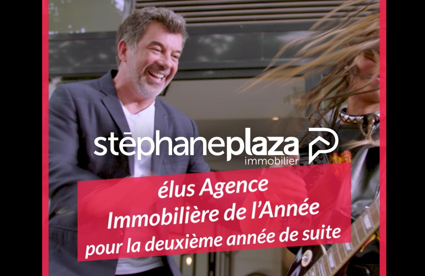 Stéphane Plaza immobilier couronnée meilleure agence de l'année
