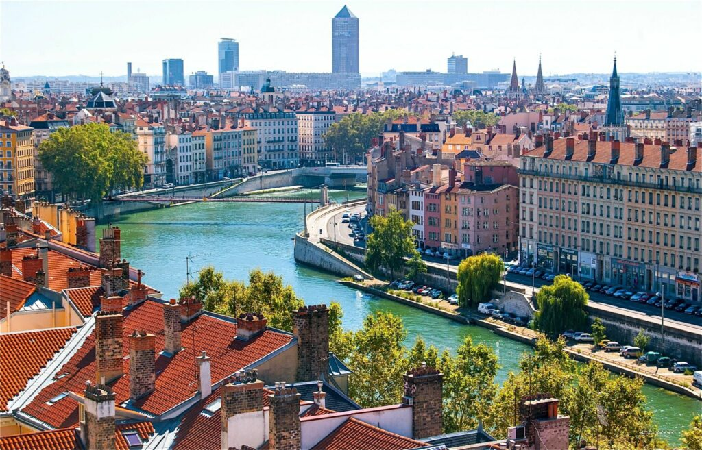 photo : Lyon, France.