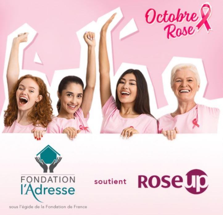 Octobre Rose : La Fondation L'Adresse soutient RoseUp