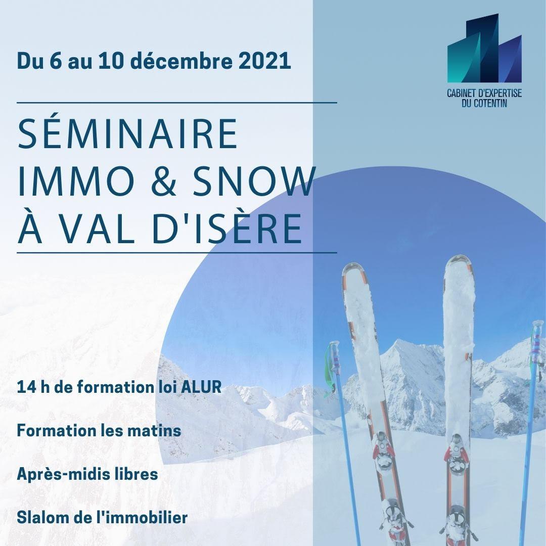 Immo & Snow vous propose d'allier détente et formation à Val d'Isère