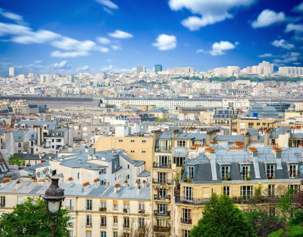 photo : Vue panoramique de Paris en France