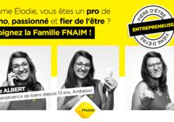 La FNAIM poursuit sa campagne « Fier d'être entrepreneur ! » avec un nouveau portrait d'adhérent